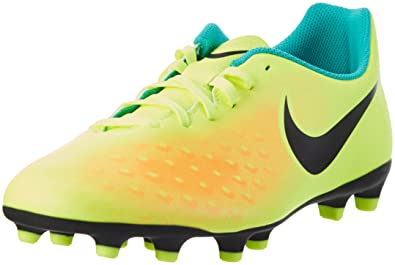 buy online d8244 14409 Nike Magista Ola II FG, Chaussures de Football Homme, Jaune (Vert Volt