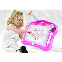 Magnetic Drawing Board For Kids - 4 Color Zone Erasable Magna Doodle Pad For Educational Sketching ? Great Gift For Boys…