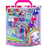 Poopsie Surprise Charm Jewelry by Horizon Group USA, Create Over 10 Pieces of Shimmering, Color Changing, Charms Using…