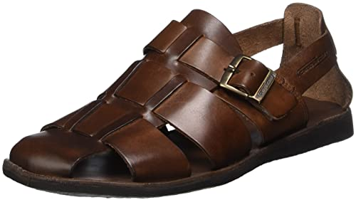 Mens Coast 12 Closed Toe Sandals Camel Active t8UXJX