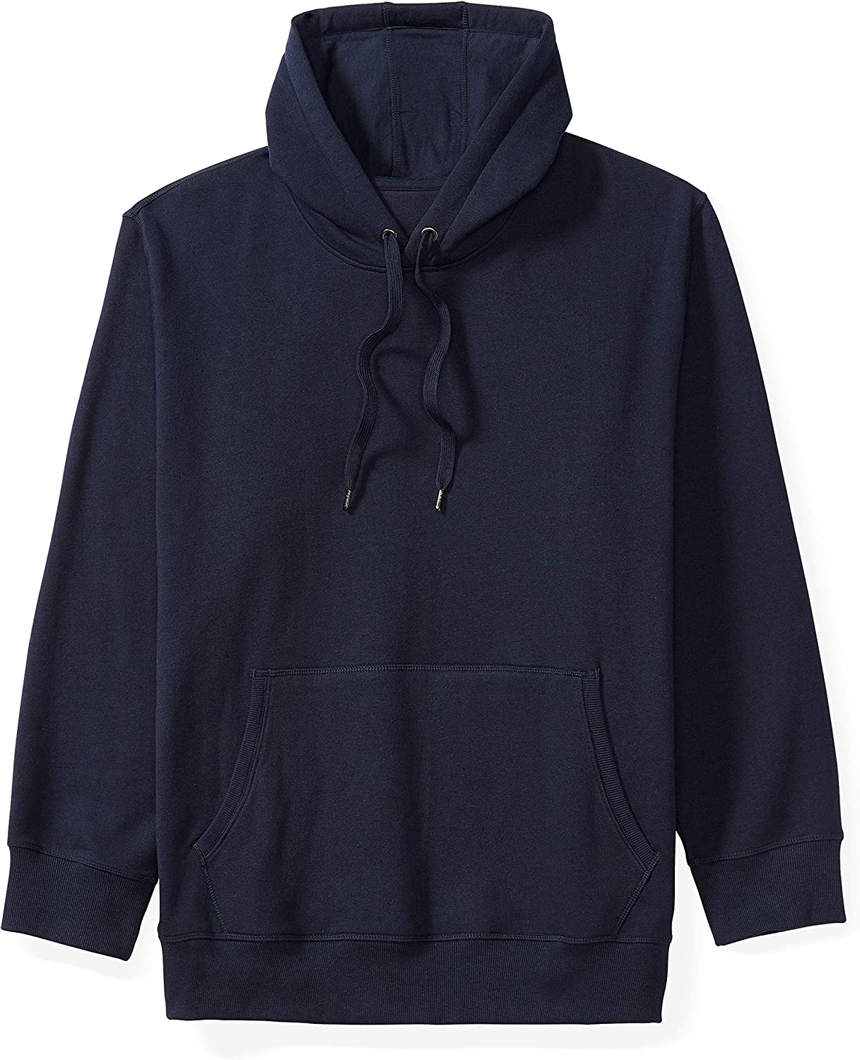 Essentials Men's Big & Tall Hooded Fleece Sweatshirt fit by DXL: Clothing