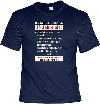 Zum 18 Geburtstag Lustiges Geburtstags T Shirt Der Trager Dieses