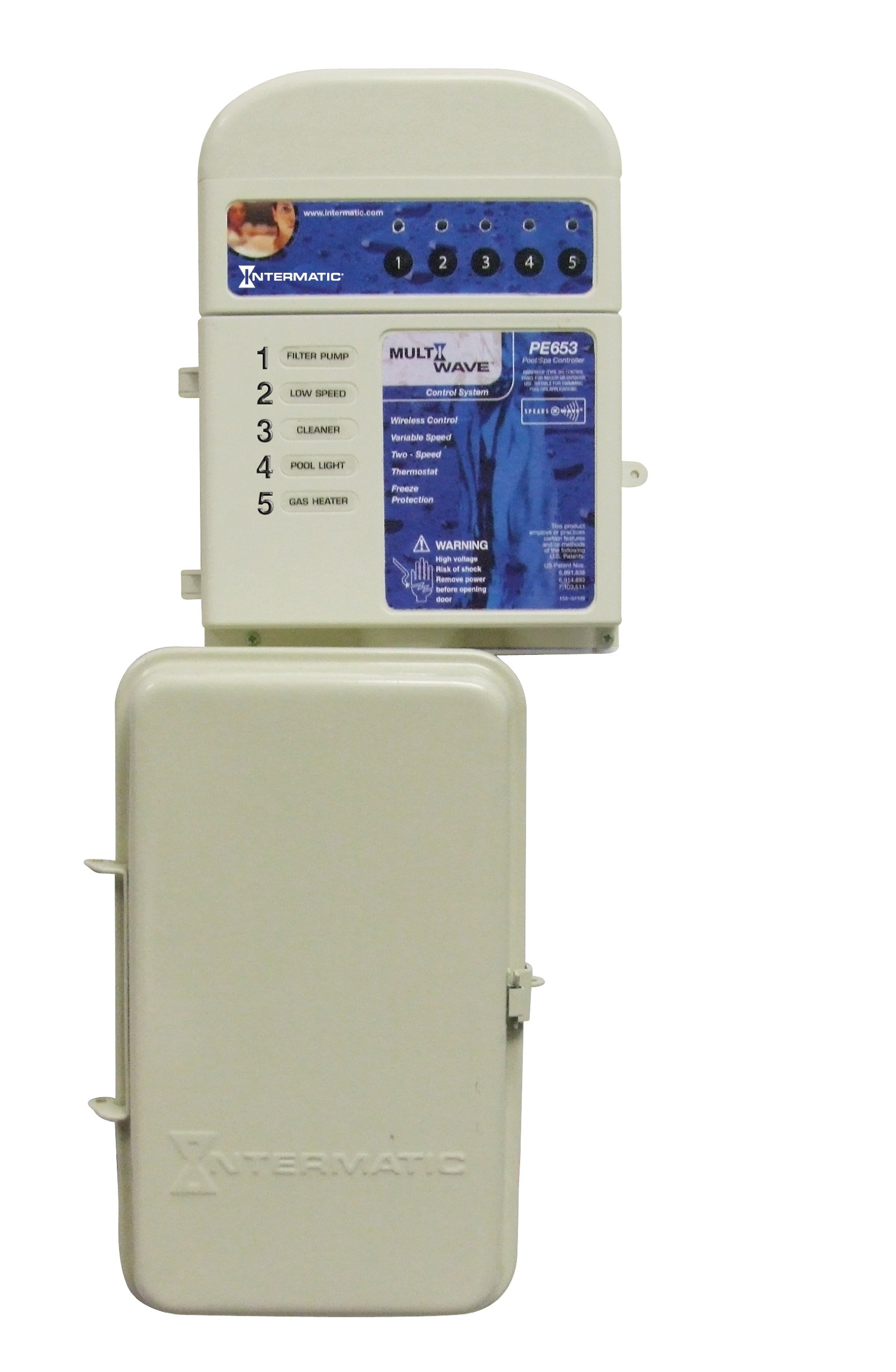 Intermatic PE653RC Wireless Control System for Variable Speed and Two-Speed Pumps