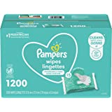 Pampers Baby Wipes Complete Clean Unscented 15X+ FTMT 1/1200 (Packaging May Vary)