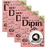 UCC DipIn コーヒーバッグ リッチなコク&深い香り (8g×5本) 40g×4箱