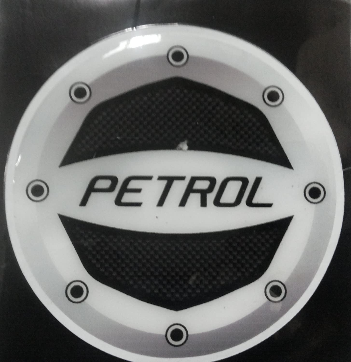 Leebo reflective black petrol inside decal sticker for maruti suzuki wagon r stingray amazon in car motorbike