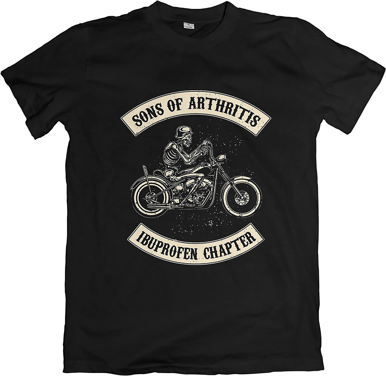 Loose Fit and Sizes Tees In The Hood Sons of Arthritis Tshirt