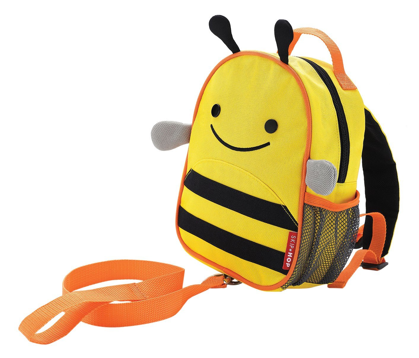 Skip Hop Zoo Little Kid and Toddler Safety Harness Backpack, Ages 2+, Multi Brooklyn Bee