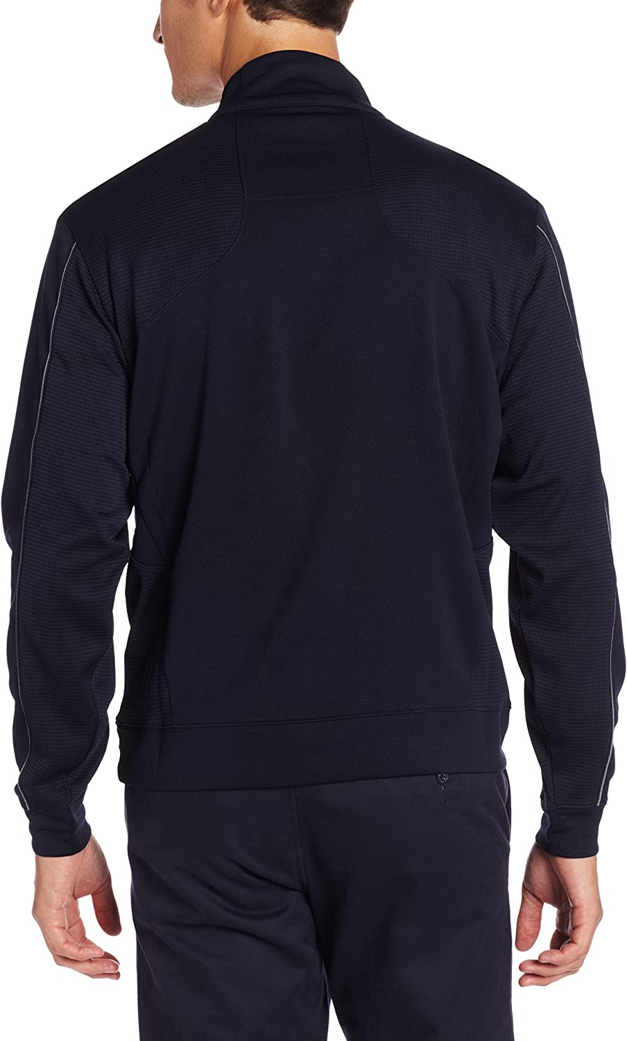 Cutter & Buck MCK08861 Men's DryTec Edge Half Zip Jackets: Clothing
