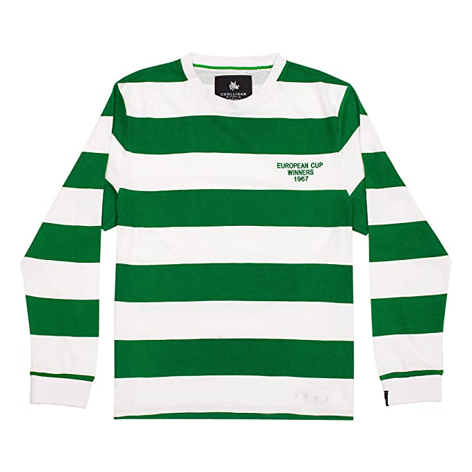 Coolligan - Camiseta de Fútbol Retro 1967 Celtic - Color - Verde - Talla - L