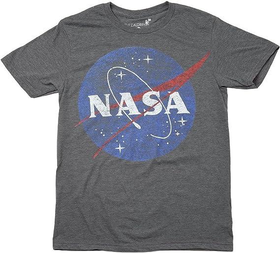 Nasa Circle Logo T-Shirt Uomo