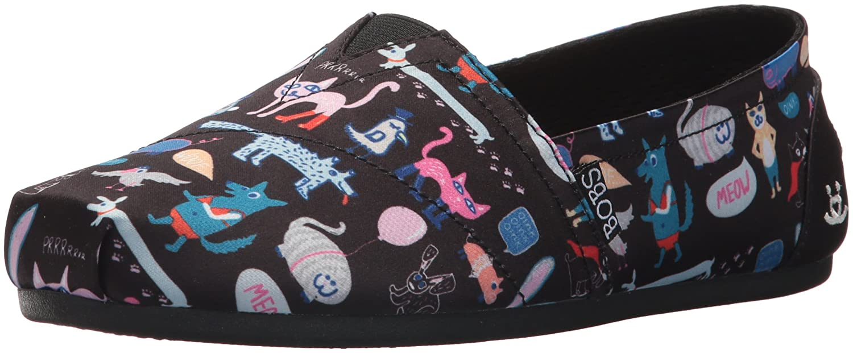 Skechers BOBS Woherren Plush-Cute Critters Critters Critters Ballet Flat schwarz 5 M US bf98e7