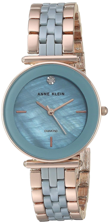 04c7487f6 Amazon.com: Anne Klein Dress Watch (Model: AK/3158LBRG): Watches