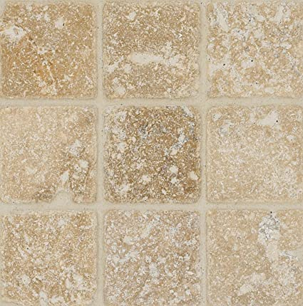 Arizona Tile By Inch Tumbled Travertine Tile Troy Total - 6 inch travertine tile