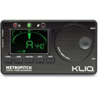 KLIQ MetroPitch - Metronome Tuner for All Instruments - with Guitar Bass Violin Ukulele and Chromatic Tuning Modes…