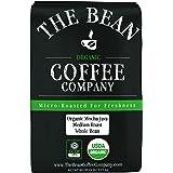 The Bean Coffee Company Organic Mocha Java, Medium Roast, Whole Bean, 5-Pound Bag