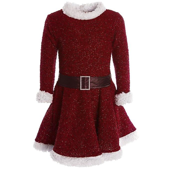 BEZLIT - Vestido - corte imperio - Básico - Cuello redondo - Manga Larga - para niña: Amazon.es: Ropa y accesorios
