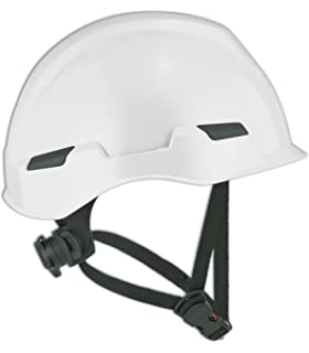 Dynamic Safety HP341R//02 Dom Hard Hat with 4-Point Nylon Suspension and Sure-Lock Ratchet Adjustment One Size Yellow ANSI Type I