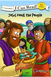 The Beginners Bible Jesus Feeds People I Can Read