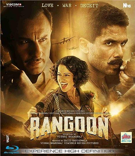 Rangoon Hindi Movie Blue Ray