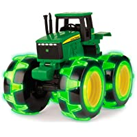 Bizak-30696434 John Deere Monster Truck, Color Verde, 20