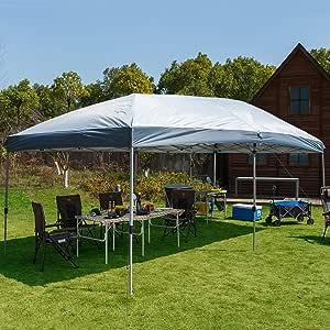 Timber Ridge toldo tienda de campaña 12 y 10 pies Instant Pop Up Refugio con bolsa de transporte: Amazon.es: Jardín