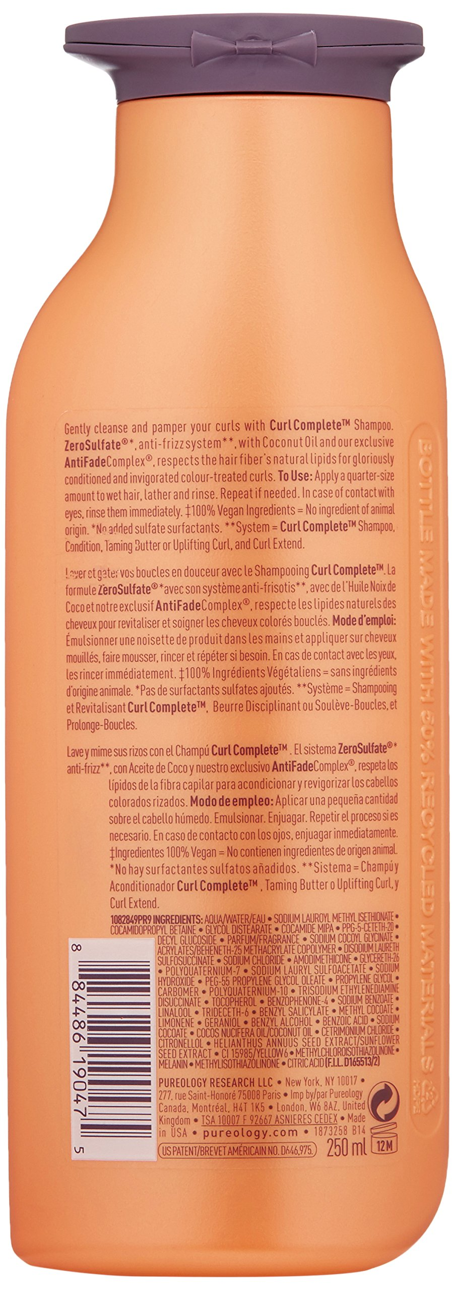 Pureology Curl Complete Shampoo, 8.5 Fl Oz by Pureology (Image #2)