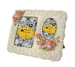 Tied Ribbons 'Couple or Friends' Photo Frame (Resin, 19.05 cm x 2.54 cm x 16.51 cm)