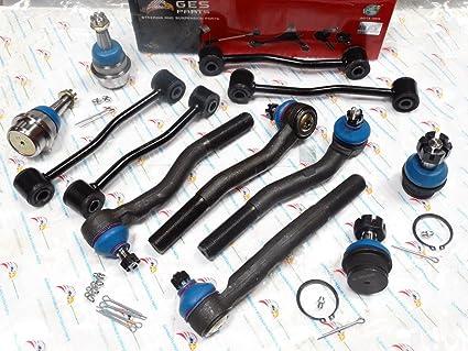 Superb GES PARTS 12PCS Front Suspension Steering Kit 99 04 Jeep Grand Cherokee  ES3472 K3201 K3185