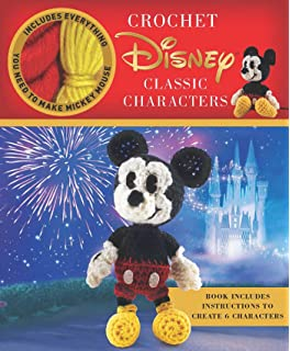 Disney Classic Crochet Crochet Kits Amazonde Megan Kreiner