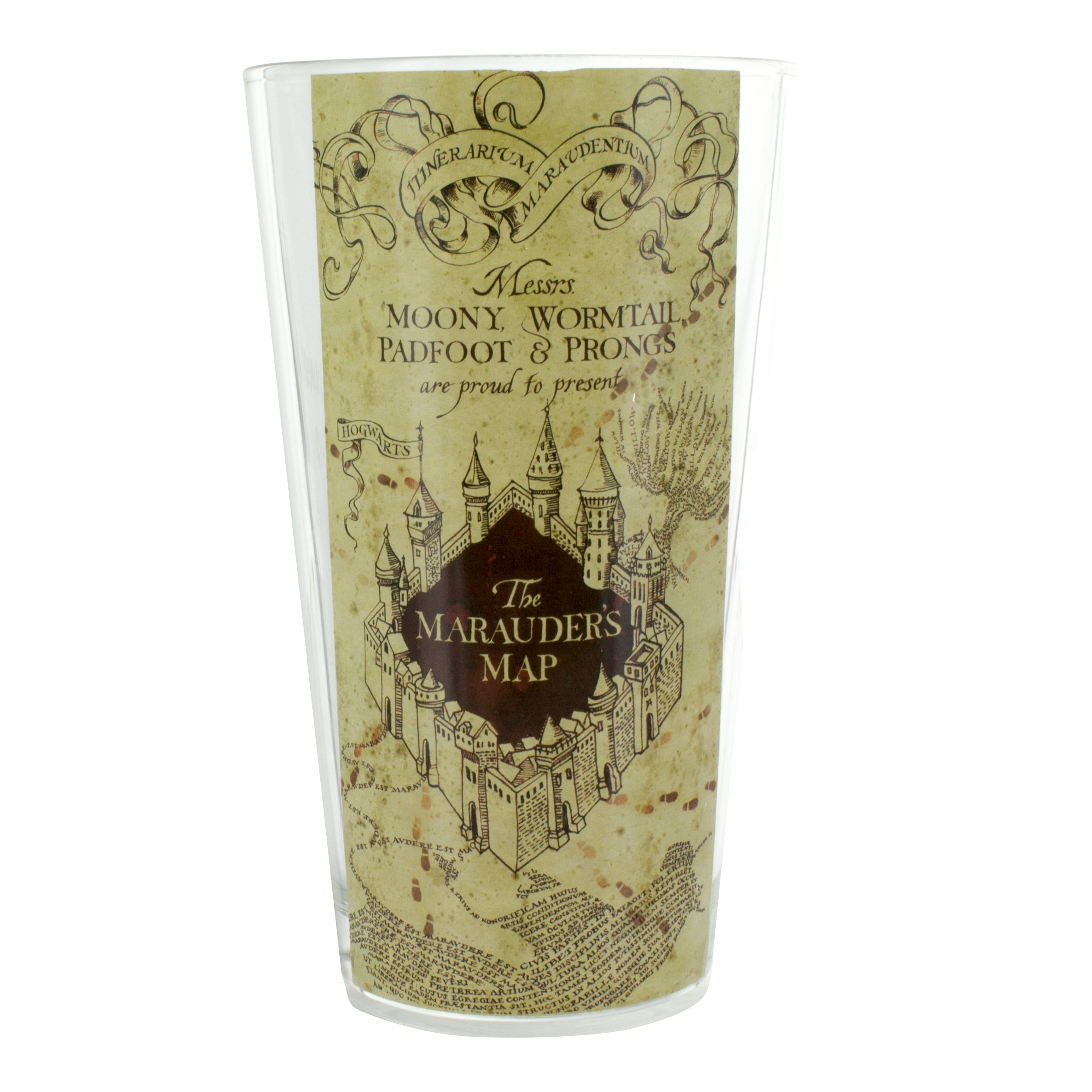 Paladone Harry Potter Hogwarts Maurader's Map Glass Tumbler by Paladone