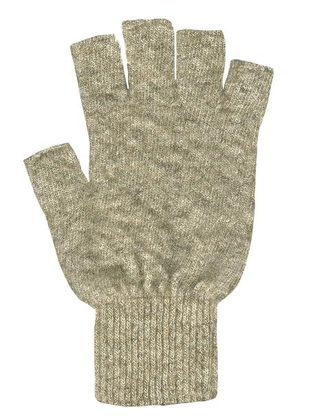 Morbidi guanti senza dita in lana Merino e fibra di Opossum: Amazon.it:  Abbigliamento