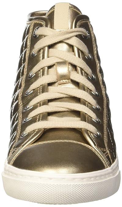 Il miglior regalo Geox D GIYO A Rosa Oro Sneakers Alte