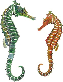 product image for Next Innovations Metal Wall Art Seahorse, 2 Piece Set
