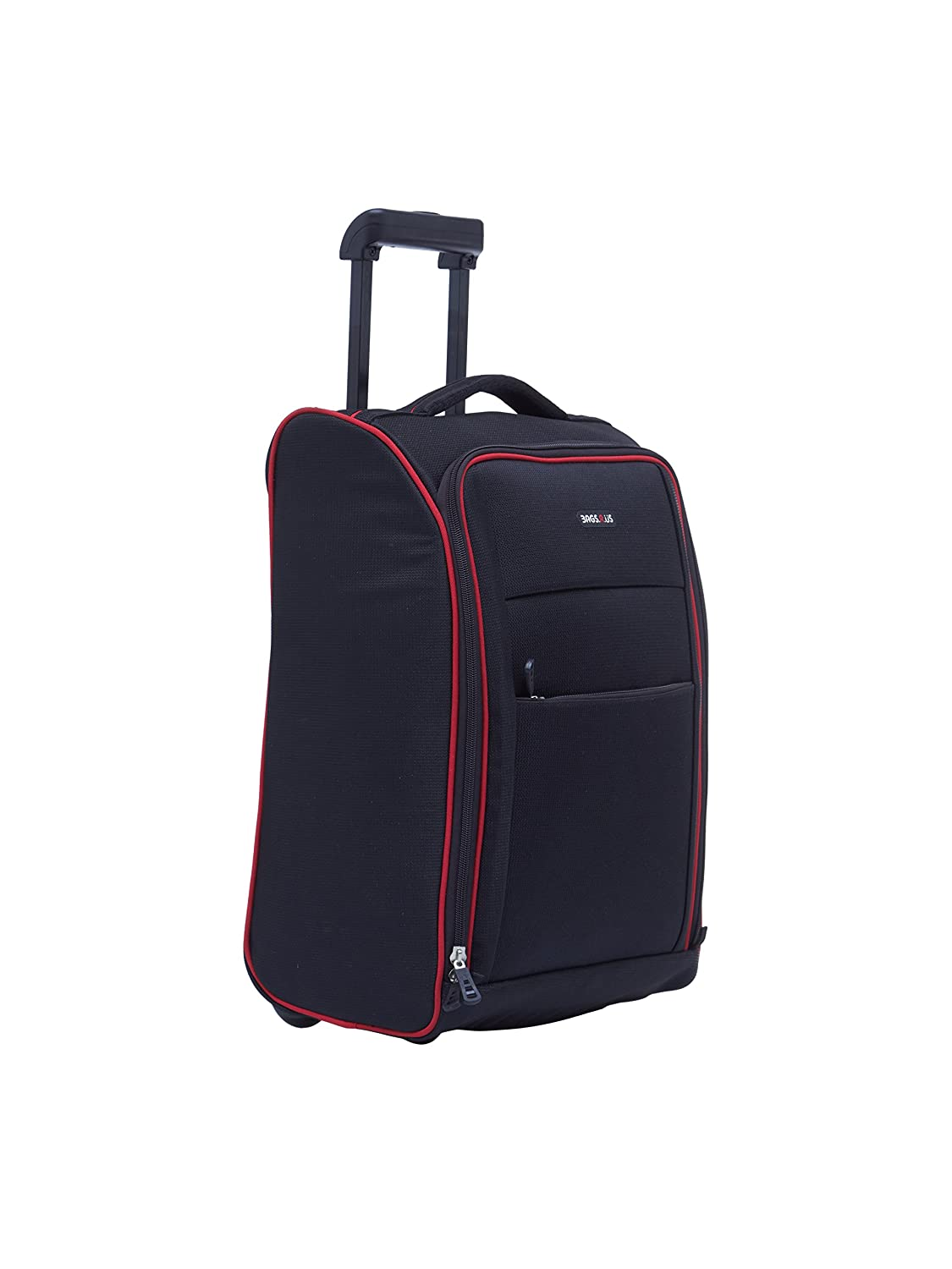 44709e2e0de1 BagsRUs Polyester 19 cms Black Softsided Cabin Luggage (CA113FBL)   Amazon.in  Bags