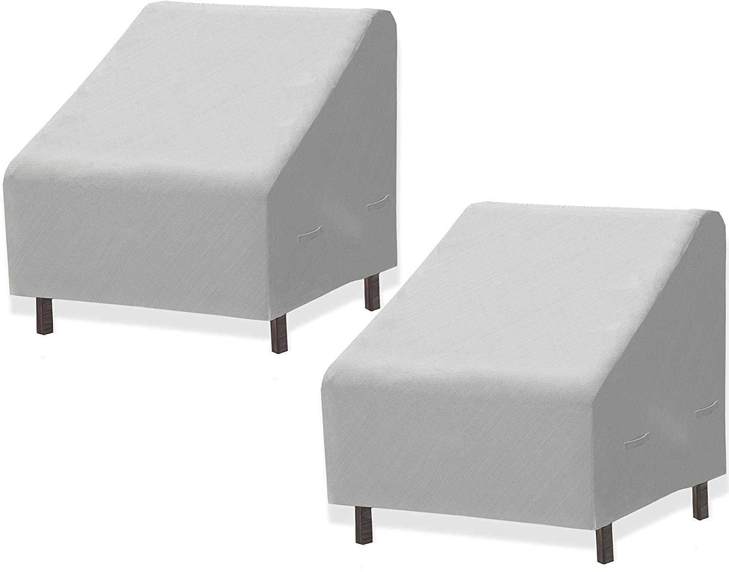 2 PK - SimpleHouseware Patio Lounge Deep-Seat Sofa Cover, 32 x 39 x 29 Inches