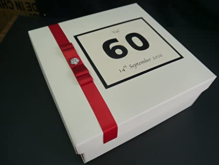 Grande Memory Box/caja de recuerdos, regalo, cumpleaños ...