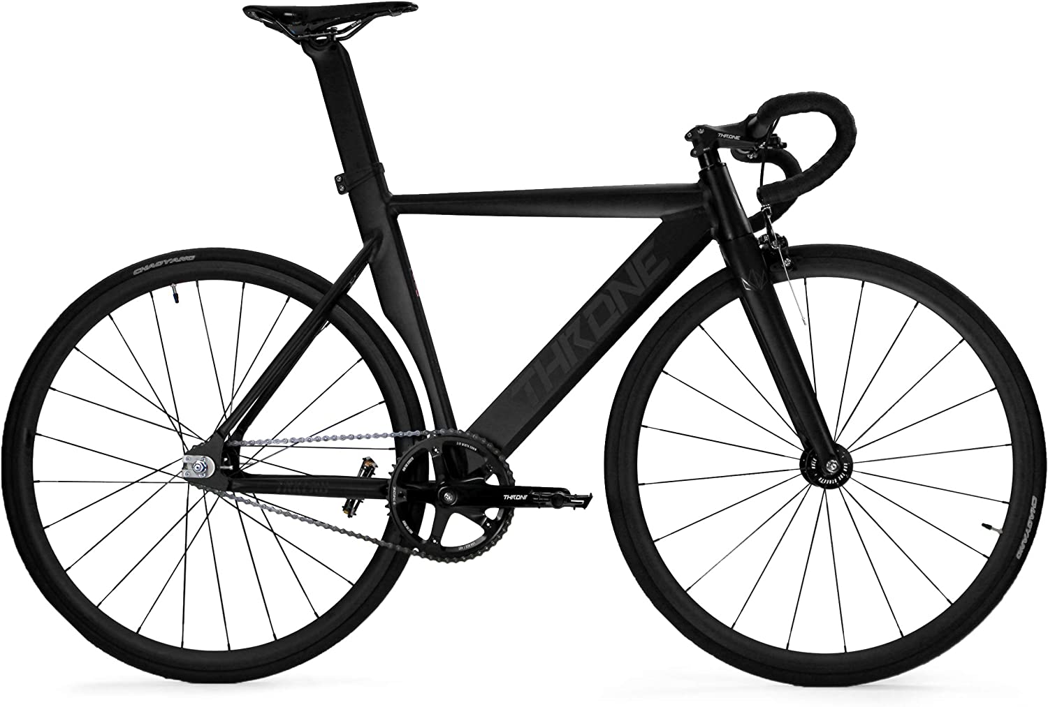 black throne fixie bike
