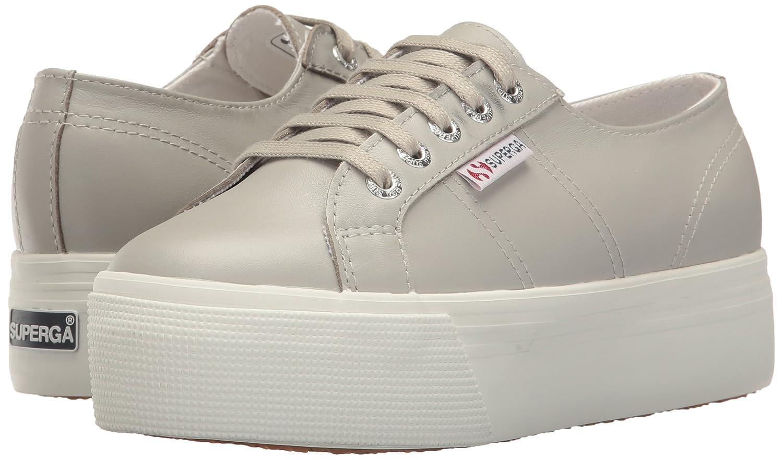 Superga Women's 2790 Fglu Platform Fashion Sneaker B01MUC716L 37.5 M EU / 7 B(M) US|Grey