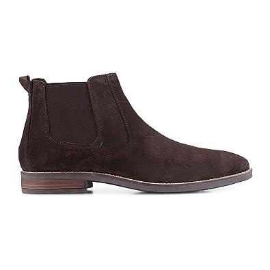 Qualitätsprodukte offizielle Seite Factory Outlets Cox Herren Chelsea-Boots aus Leder, Stiefeletten in Braun ...