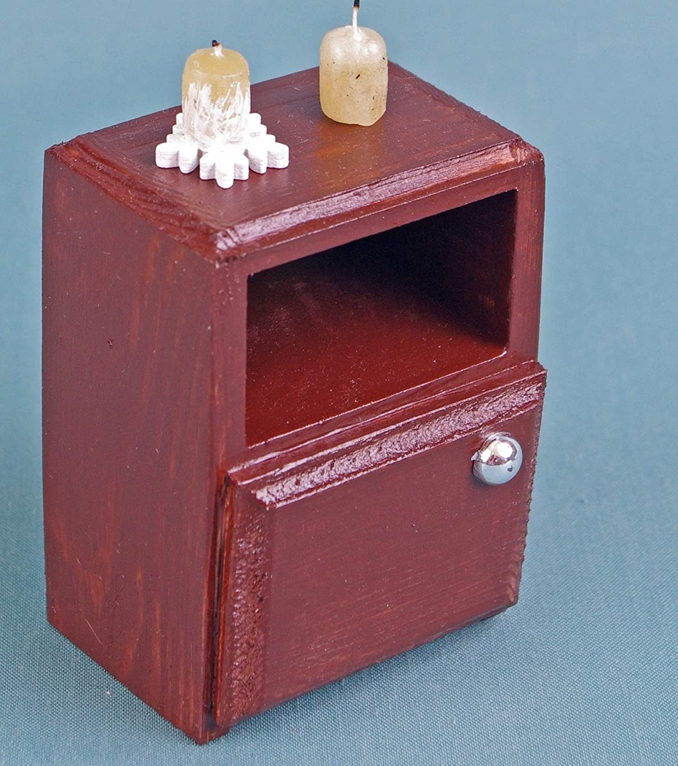 Bedside Table bedroom dollhouse 1:6 playscale wooden furniture 12 inch dolls for Barbie Blythe Monster High EAH MH role-playing games
