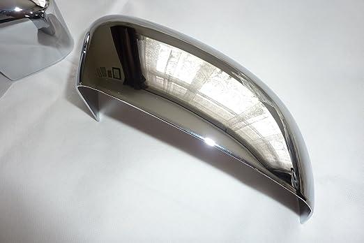 Tapacubos para Ford Focus MK2 y Mondeo MK3 MK4 puerta ala espejo cromado cubre: Amazon.co.uk: Car & Motorbike