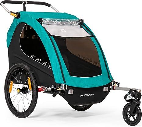Burley Encore X Remolque de Bicicleta para niños, Unisex Adulto, Turquesa,: Amazon.es: Deportes y aire libre