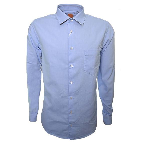 Hugo Boss Mens Light Blue Epop Shirt S