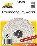 Schellenberg 34503 Rollladengurt 23 mm/4.5 m, weiß
