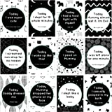Eco Baby Planet Baby Milestone Cards - 24 Unique Cute & Funny Card Designs - Standard & Hilarious Milestones - Be…