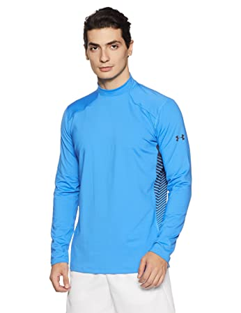 6306745110c1b0 Under Armour Mens ColdGear Reactor Fitted Long Sleeve: Amazon.co.uk ...