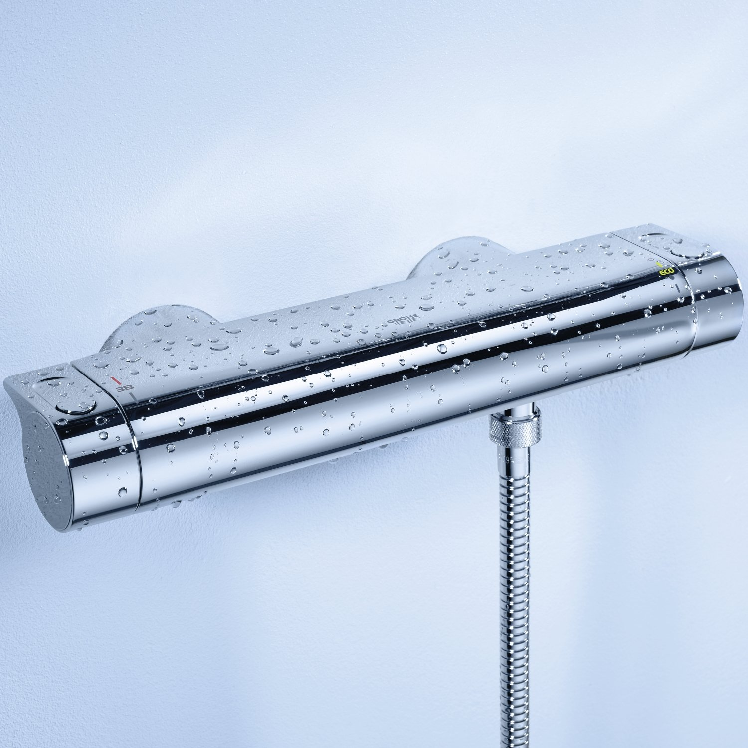 Erstaunlich Grohe Grohtherm 2000 34169001 Thermostatic Shower Tap - - Amazon.com ED26