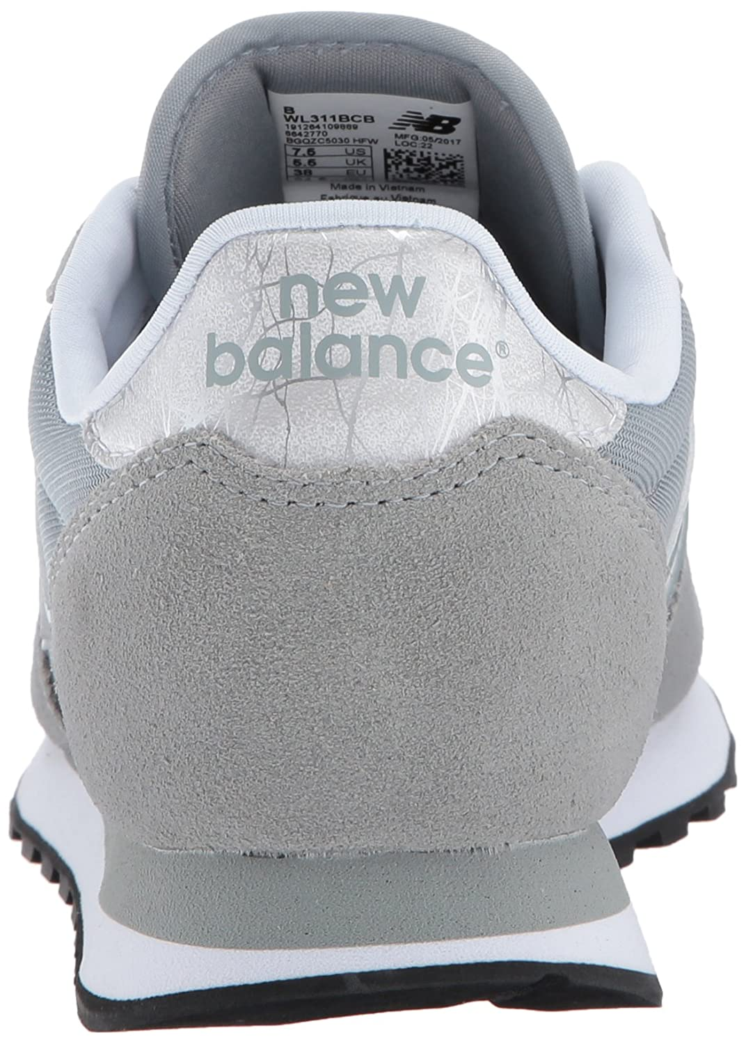 New Balance Women's 311v1 Sneaker B01MTQ84TK 8 B(M) US|Apollo Grey/Silver
