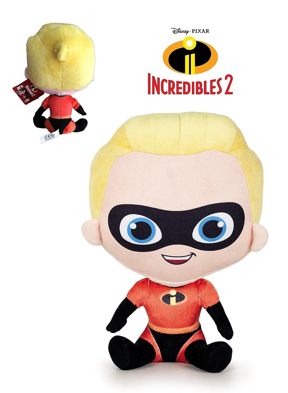 Los Increibles - Peluche Dash niño rubio 25cm Calidad super soft: Amazon.es: Juguetes y juegos